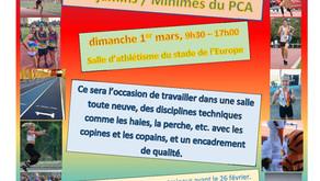 Regroupement BE-MI PCA le 1er Mars 2020