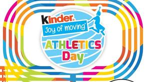Kinder Joy of moving Athletic Day dans les clubs 💥
