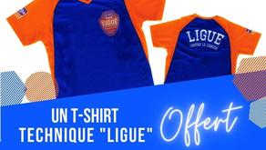 📆 un tee-shirt pour LES DEFOULEES de la Ligue 👟 👟