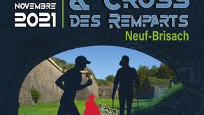 Inscriptions📝 ouvertes pour le Nordic cross des Remparts du CSL 14/11/2021
