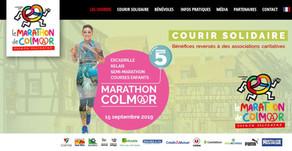 📌 Tenue du stand PCA au marathon de Colmar et 📌course des enfants ESRCAC