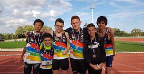 """Challenge Equip'athlé """"finale"""" à Reims, le PCA termine 3ème équipe chez les benjamins !"""