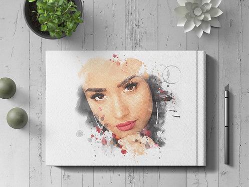 Personalized Watercolor Portrait / Custom Pet Portrait