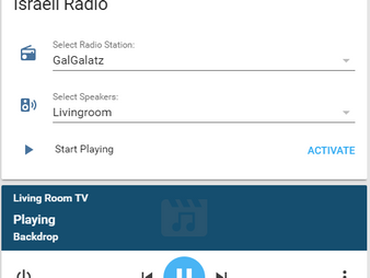 Cast - הזרמת תחנת רדיו באמצעות Home-Assistant