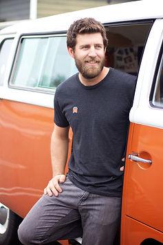 custom VW bus shirt