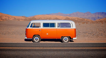 VW Bus Death Vally
