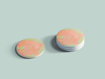 Chanty Mushroom Buttons