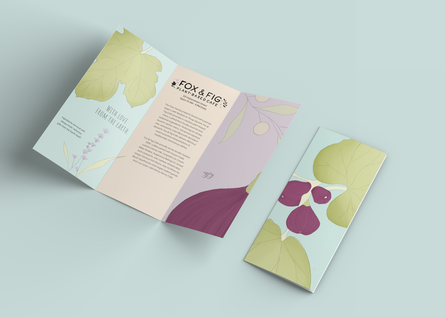 Fox and Fig Brochure