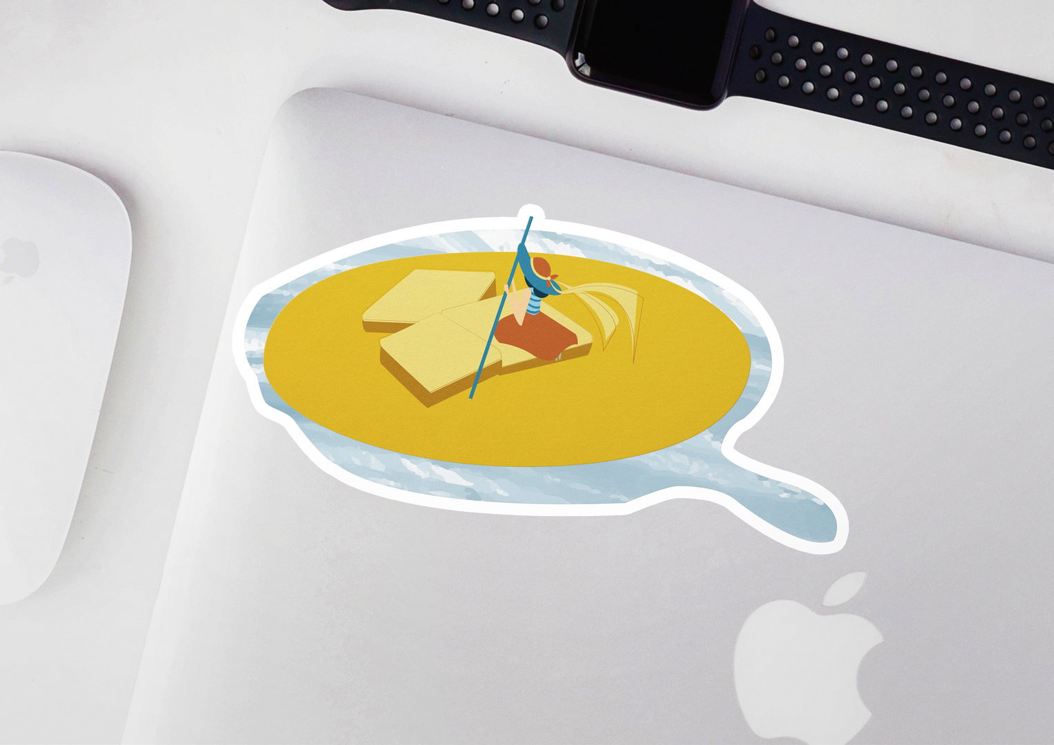 Cornbread Sticker