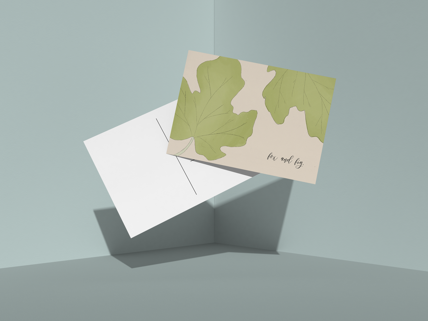 Fig Leaves Postcard