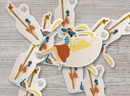 Southern Comfort Food Spot Illustrations