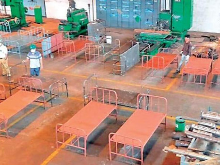 Visakhapatnam: 1,000-bed to come up for covid facility in Steel Township.