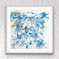 """Splash"" 80x80 cm 8.500 kr"