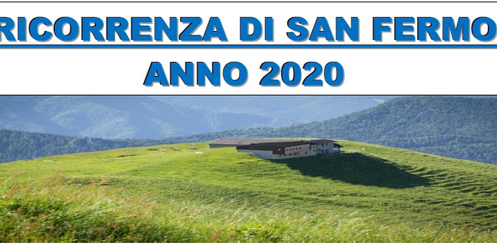 RICORRENZA DI SAN FERMO 2020