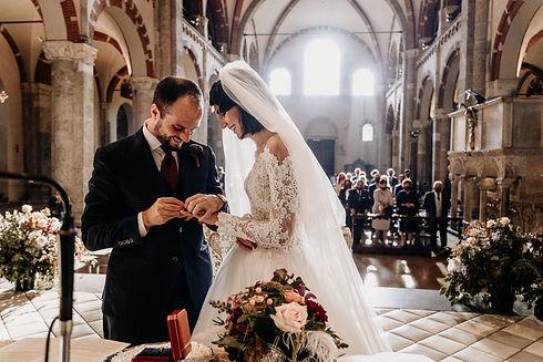 Matrimonio Basilica Sant'Ambrogio Milano