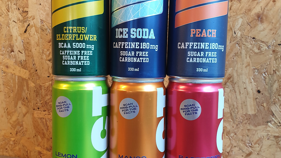 Six mixed drinks bundle - Nocco & Fact