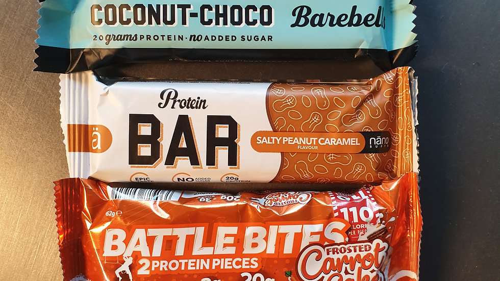 Five Protein Bar Bundle