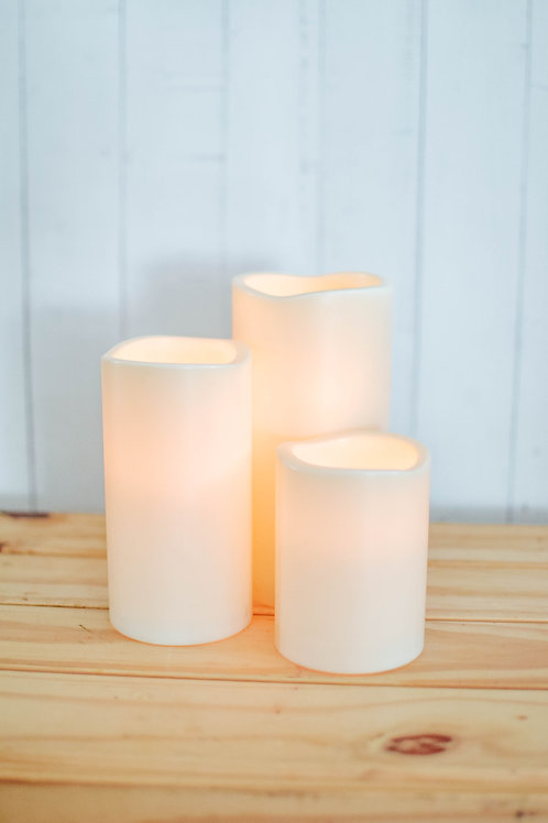 Block Candle (Battery Operated)