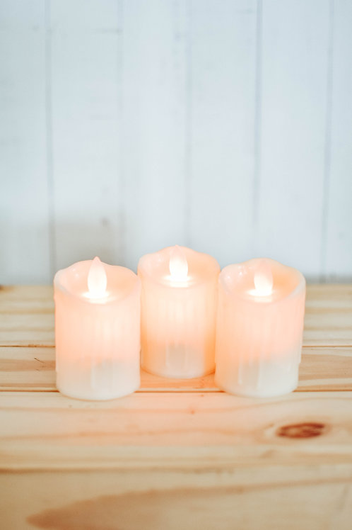 Melting Candle (Battery Operated)