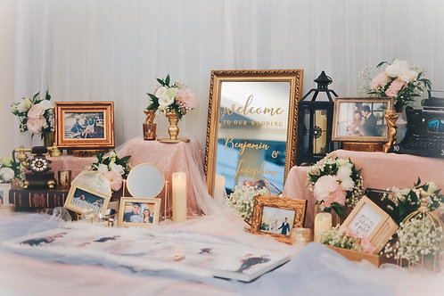 Chic Fairytale Table Prop Rental