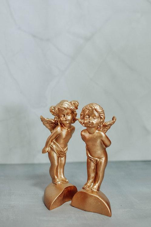 Gold Nordic Angels