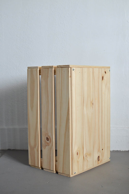 Light Wood Crate (Large)