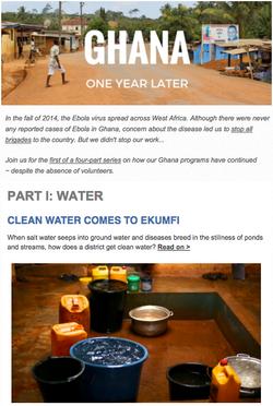 Ghana, One Year Later
