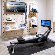 Fabletics x Hydrow : retail activation