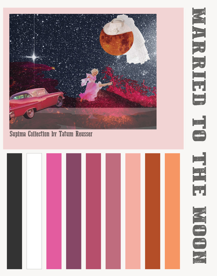 Married To The Moon Mood Board/ Color Story