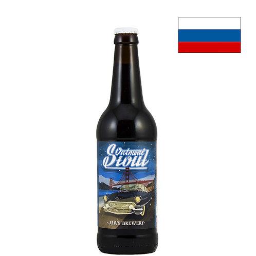 Пиво Jaws Oatmeal Stout | Джоус Отмил Стаут | 500 мл | бут. - CHILL