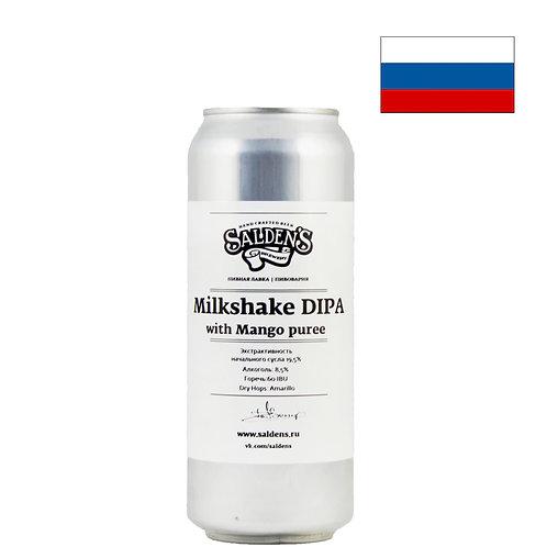 Пиво Salden's Milkshake Mango   Салденс Милкшейк Манго   500 мл   ж/б - CHILL