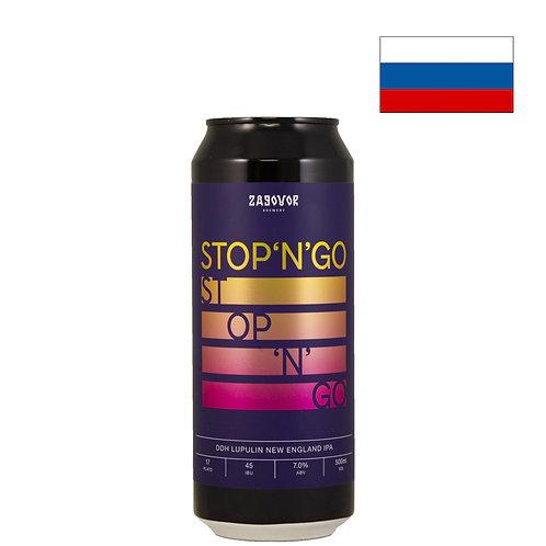 Пиво Zagovor STOP'N'GO DDH+Lupulin Powder | 500 мл | ж/б - CHILL