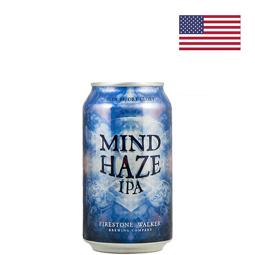Пиво Firestone Walker Mind Haze | Майнд Хейз | 355 мл | ж/б - CHILL