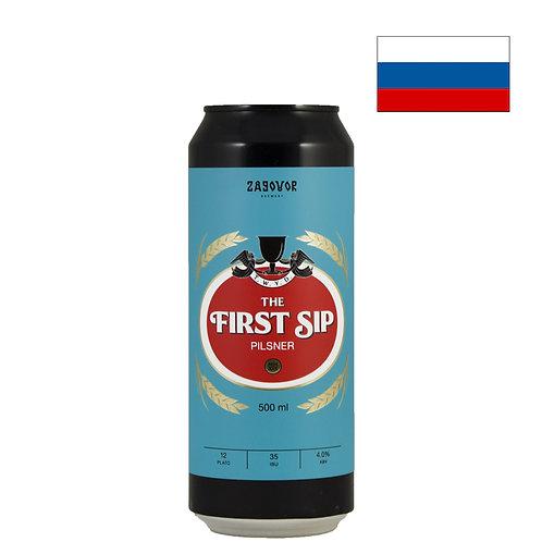 Пиво Zagovor The First Sip | Заговор Зе Ферст Сип | 500 мл | ж/б - CHILL