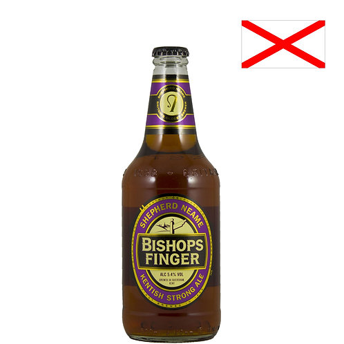 Пиво Shepherd Neame Bishops Finger | 500 мл | бут. - CHILL