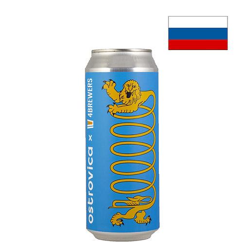 Пиво Ostrovica Slinky | Островица Слинки | 500 мл | ж/б - CHILL