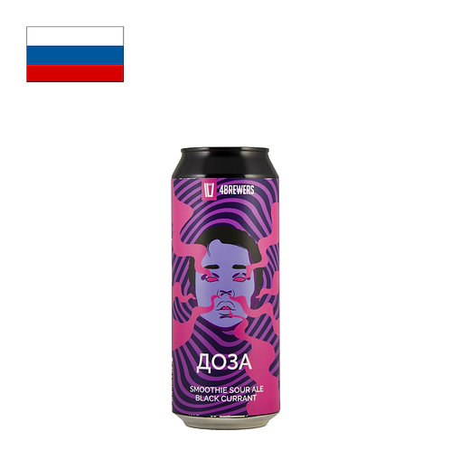 4BREWERS Doza Black Currant