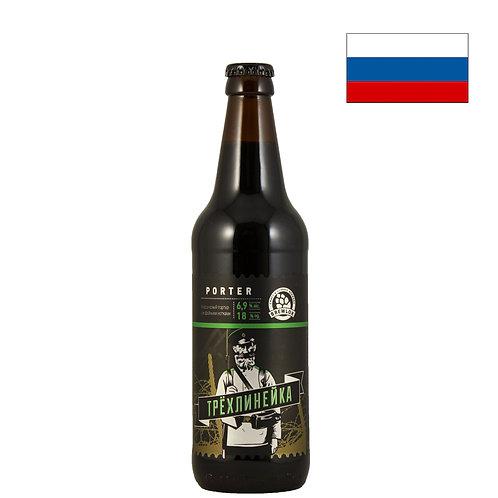 Пиво Брюлок Трехлинейка | Brewlok Trehlineyka | 500мл | бут. - CHILL