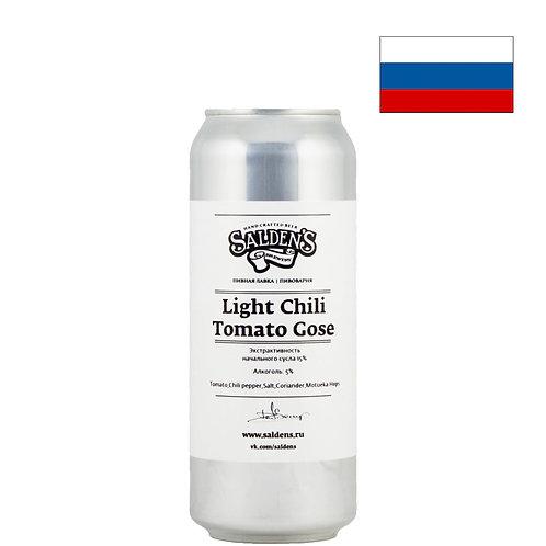 Пиво Salden's Tomato Gose Light Chili Edition   500 мл   ж/б - CHILL