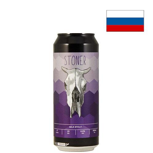Пиво Zagovor Stoner   Заговор Стоунер   500 мл   ж/б - CHILL
