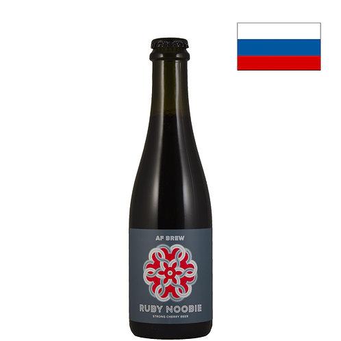 Пиво AF Brew Ruby Noobie | Аф Брю Руби Нуби | 375 мл | бут. - CHILL