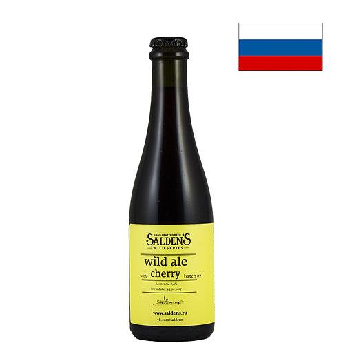 Пиво Salden's Wild Ale Cherry | Салденс Вайлд Эль Черри | 500 мл | бут. - CHILL