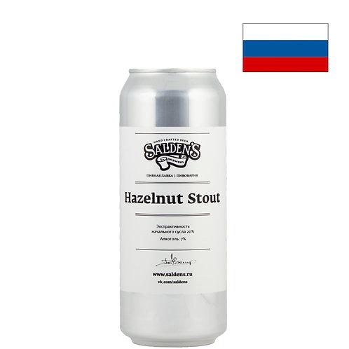Пиво Salden's Hazelnut Stout   Салденс Хазелнат Стаут   500 мл   ж/б - CHILL