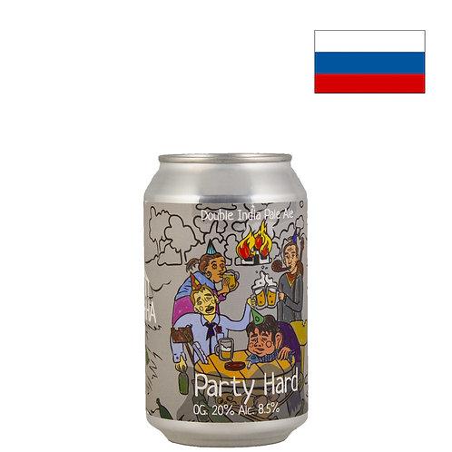 Пиво Odna Tonna Party Hard 2021 | Одна Тонна Пати Хард | 330 мл | ж/б - CHILL