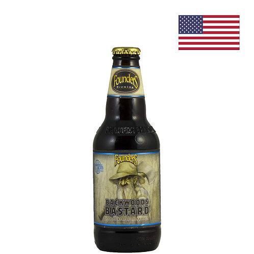 Пиво Founders Backwood Bastard | Фаундерс Бэквуд Бастард | 355 мл | бут. - CHILL