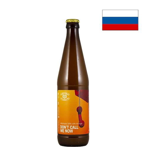 Пиво Big Village Don't Call Me Now (Mango) | 500 мл | бут. - CHILL