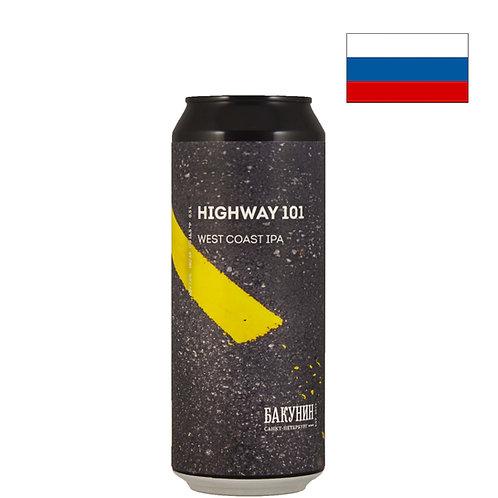 Пиво Bakunin Highway 101 | Бакунин Хайвей 101 | 500 мл | ж/б -  CHILL