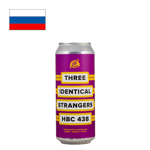 AF Brew Three Identical Strangers: HBC 438