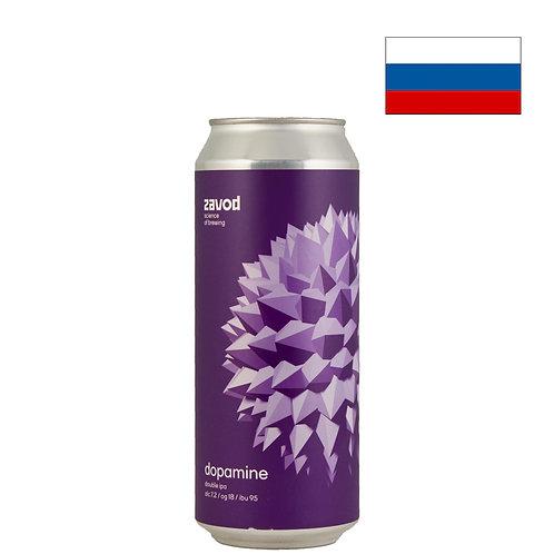 Пиво Zavod Dopamine   Завод Дофамин   500 мл   ж/б - CHILL