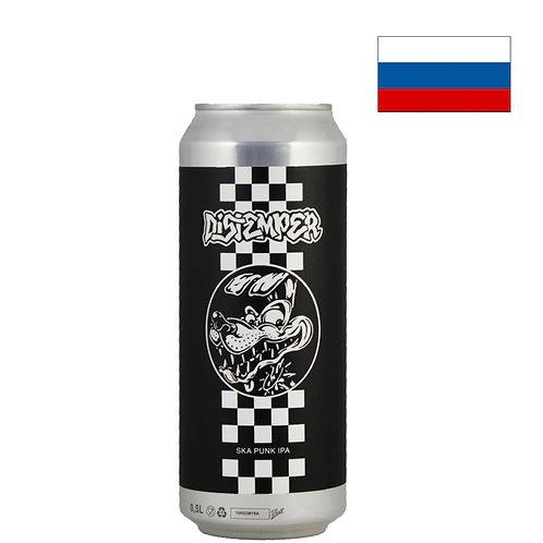 Пиво Zagovor Distemper | Заговор Дистемпер | 500 мл | ж/б - CHILL